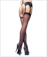 Leg Avenue® Sheer Backseam Stockings LA-1000Q