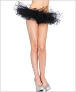 Black Tulle Tutu Skirt La-2668-Black