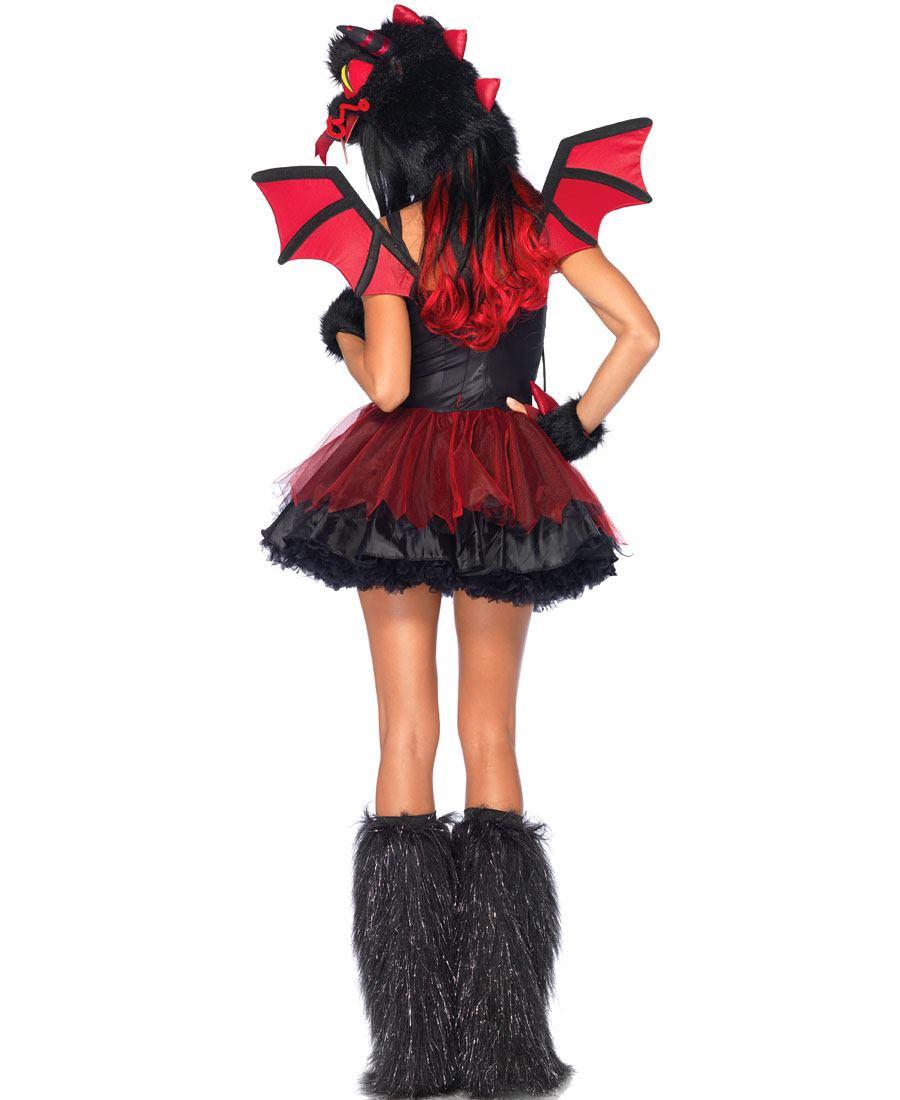 Как сделать костюм дьяволицы