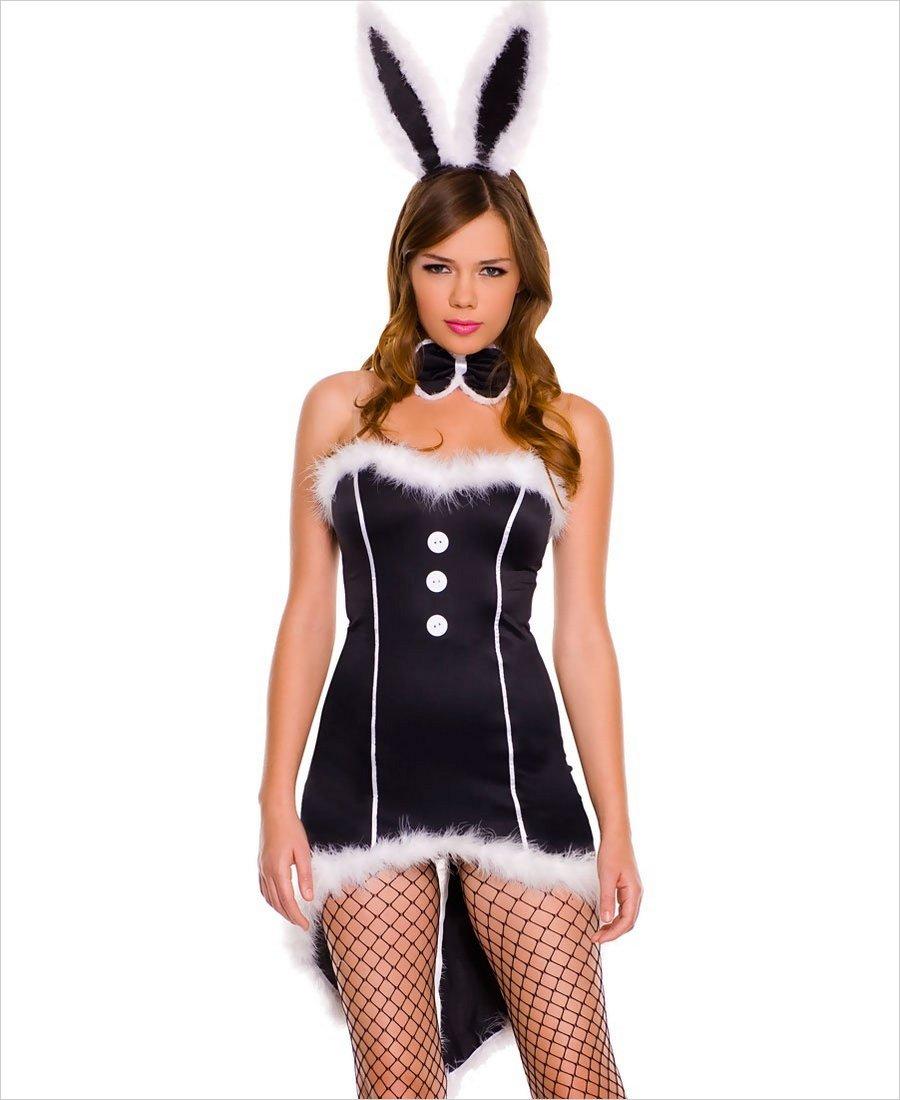 Ретро фото в костюме зайца 12 фотография