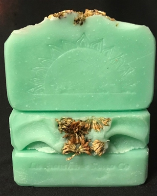 Clover Soap, Louisiana Soap, Handcrafted Soap, Natural Soap, St Patrick's Day Soap