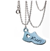 running shoe necklace