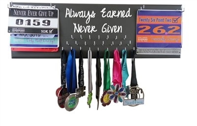 Always Earned Never Given - medal hanger