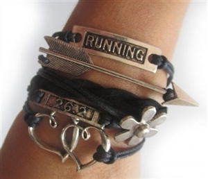 26.2 running wristband for women