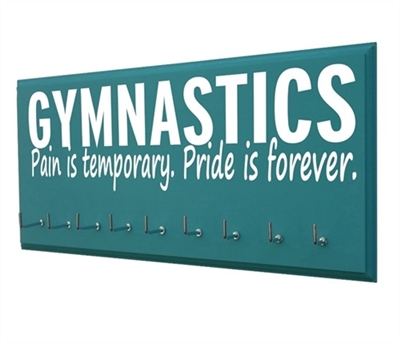 Gymnastics medals display - Gymnastics