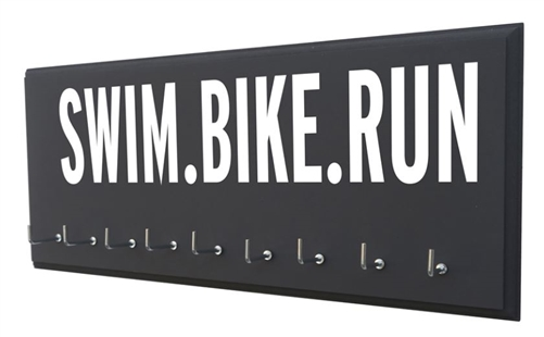 Triathlon medal holder - SWIM.BIKE.RUN