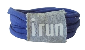 Sweat away running bracelet - I RUN