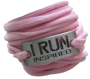 I run inspired - sweat away bracelet