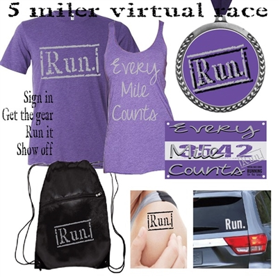 Every Mile Counts - Virtual races - virtual runs
