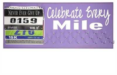 medals holder  celebrate every mile