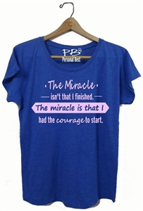Woman running tee - The Miracle