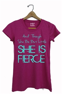 Women's tee - she is fierce