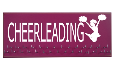 cheerleading cheerleader bow toe gift holder display hanger