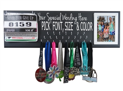 Custom medal display hanger