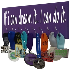 If I can dream it I can do it - medals display for all sports