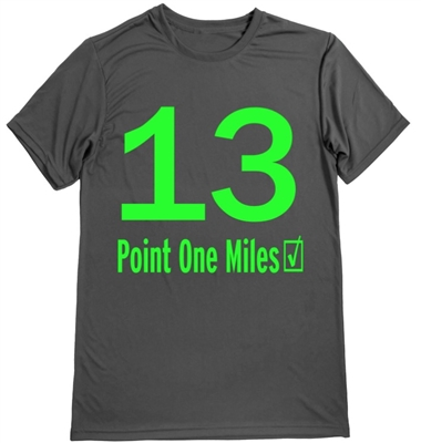 Half marathon - men's running shirt