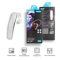 BTHF-88 WT HiFi High Performance In-Ear Wireless Bluetooth Headset
