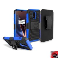 OnePlus 6T Holster Combo Case CB5C Blue
