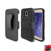 Samsung Galaxy J7 (2018)/ J7 Refine/ J7 Star /J737 Holster Combo Case CB5C Black