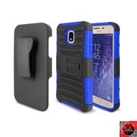 Samsung Galaxy J7 (2018)/ J7 Refine/ J7 Star /J737 Holster Combo Case CB5C Blue