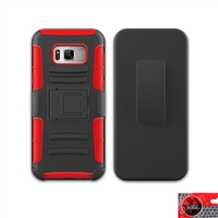SAMSUNG GALAXY Note 8 / N950 HOLSTER COMBO CB5C RED