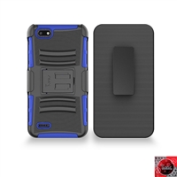 ZTE Blade Force / N9517 Holster Combo Hybrid Kickstand CB5C Blue