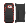 Samsung Galaxy S7 Holster Combo Hybrid Kickstand CB6C Red