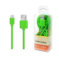 DC01-TYPE C / USB C ( 6 ft ) Date Sync Charging Cable GREEN