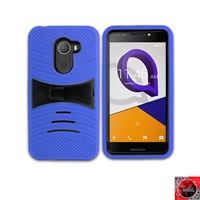 Alcatel REVVL /Walters /A30 Fierce/ 5049 Hybrid Kickstand Case HYB08 Blue