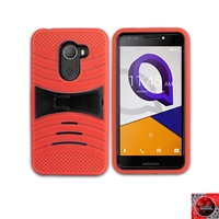 Alcatel REVVL /Walters /A30 Fierce/ 5049 Hybrid Kickstand Case HYB08 Red