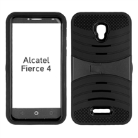 ALCATEL FIERCE 4 HYBRID CASE HYB08 BLACK