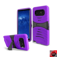 Samsung Galaxy Note 8 / N950 HYBRID KICKSTAND COVER CASE HYB08 Purple