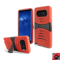 Samsung Galaxy Note 8 / N950 HYBRID KICKSTAND COVER CASE HYB08 Red