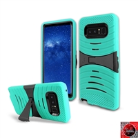 Samsung Galaxy Note 8 / N950 HYBRID KICKSTAND COVER CASE HYB08 Teal