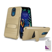For LG K40 /X420 (Metro Pcs & T-Mobile ) Hybrid Slim Armor Cover Case For Wholesale