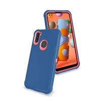 Samsung Galaxy A11 (A115) Slim Defender Cover Case HYB12 Teal/Pink