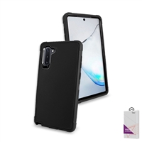 Samsung Galaxy Note 10 Slim Defender Cover Case HYB12 Black/Black