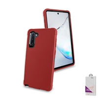 Samsung Galaxy Note 10 Slim Defender Cover Case HYB12 Red/Black