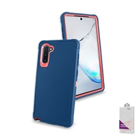 Samsung Galaxy Note 10 Plus Slim Defender Cover Case HYB12 Teal/Pink