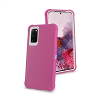 "Samsung Galaxy S20 Plus 6.7"" /G985 Slim Defender Cover Case HYB12 Pink/White"