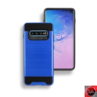 Samsung Galaxy S10 5G Slim Armor Metal Brush Case for Wholesale
