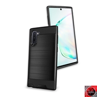 Samsung Galaxy Note 10 Slim Armor Metal Brush Case for Wholesale