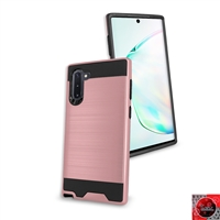 Samsung Galaxy Note 10 Plus Slim Armor Metal Brush Case for Wholesale