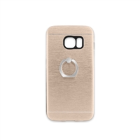 Samsung Galaxy S7 Aluminum Ring Stand CASE HYB24 GOLD