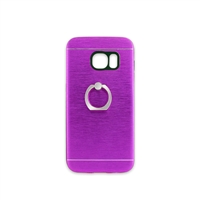 Samsung Galaxy S7 Aluminum Ring Stand CASE HYB24 Purple