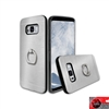 Samsung Galaxy S8 Plus Aluminum Ring Stand CASE HYB24 Silver