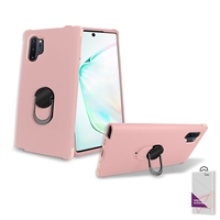 Samsung Galaxy Note 10 Plus Hybrid Ring Kickstand Case HYB32 Rose Gold