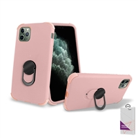 "iPhone 11 Pro Max (6.5"") Hybrid Ring Kickstand Case HYB32 Rose Gold"
