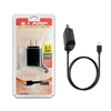 2.1 A MICRO USB HOME Charger with Extra USB Black