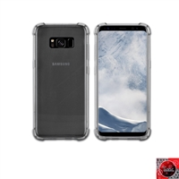 For Samsung Galaxy S8 Plus Crystal Clear Smoke TPU Case